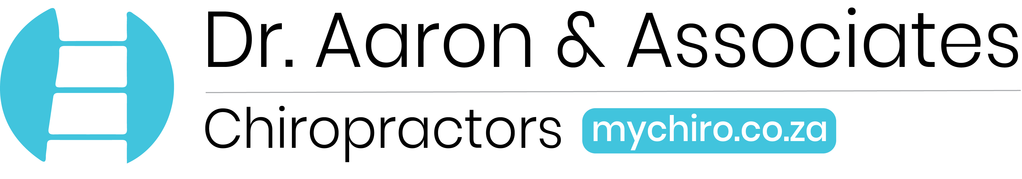 Dr. Aaron and Associates New descriptive and Informative Logo.