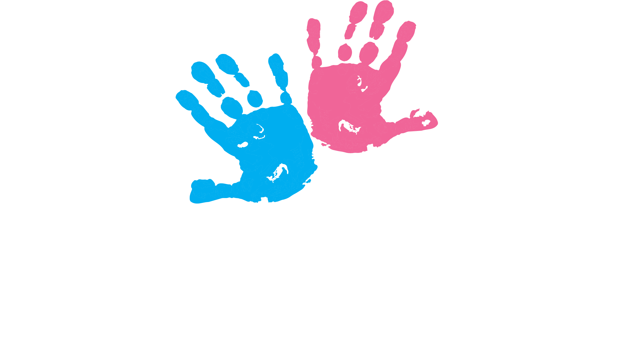 Happy Kids by Dr. Aaron logo. Hand Paint by Print of Boys & Girls to reflect chiropractic care for children.