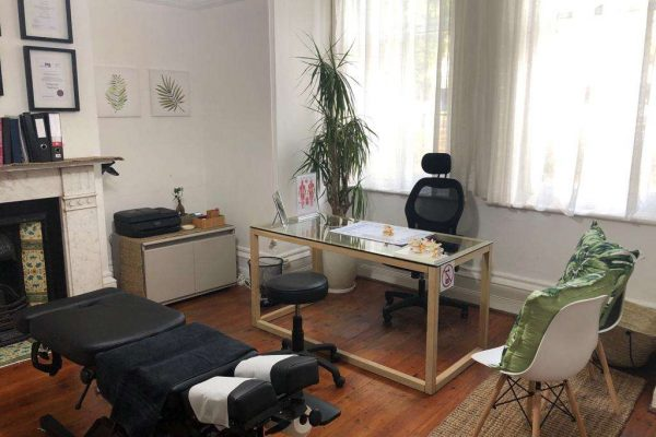 Dr. Aaron and Associates Practice Interior in Sea Point Cape Town